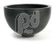 Deco Poly Bowl Black