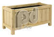 Robinia Wooden Planter | Rectangular